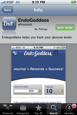 EndoGoddess app